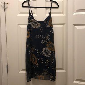 Kendal & Kylie Floral Slip Dress